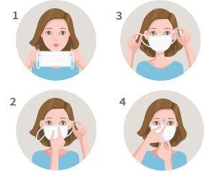 Mascaras Cirúrgicas Descartáveis boas praticas